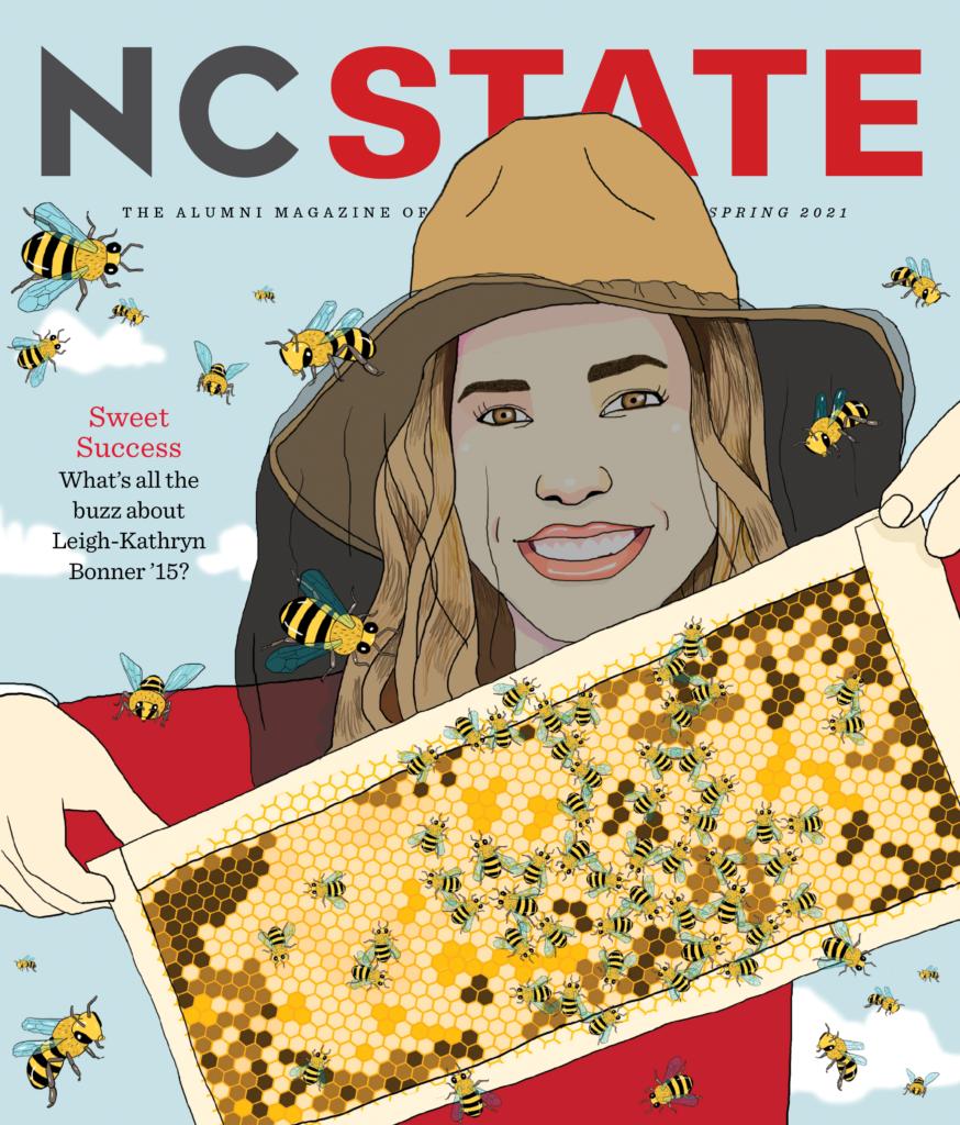 Spring 2021 NCState Alumni Magazine cover